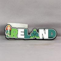 British Brands Magnet PVC Ireland Wording With Characters 16g