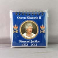 British Brands Notepad Diamond Jubilee Portrait 100g