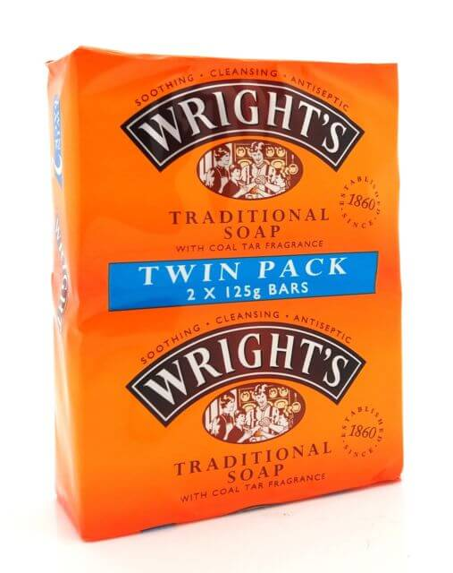 Wrights Traditional Soap (Pack of 2 x 125g) 250g
