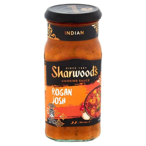 Sharwoods Cooking Sauce - Rogan Josh Medium 420g