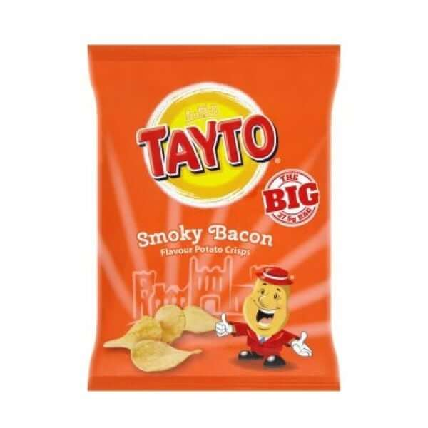 Tayto Smoky Bacon Potato Crisps 37.5g