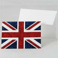 United Kingdom Flag Note Card 18g