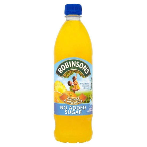 Robinsons Squash - Orange and Pineapple No Added Sugar 1L