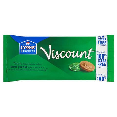 Lyons Viscount Mint Biscuits 196g