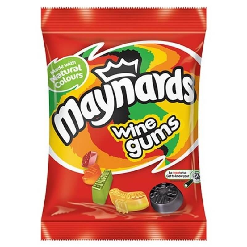 Maynards Wine Gums - Bag (LIMIT 3 PER ORDER) 190g