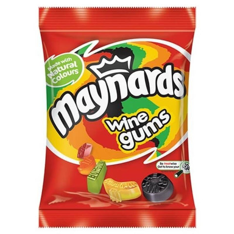 Maynards British Wine Gum Bag 190g