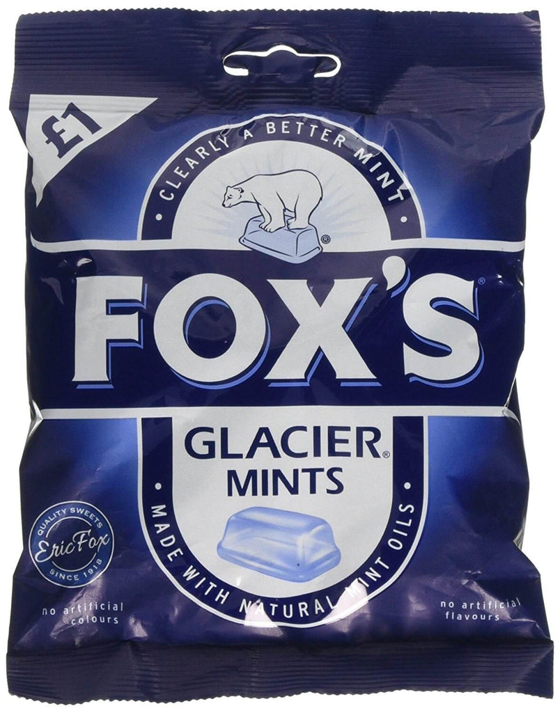 Foxs Glacier Mints Bag 130g