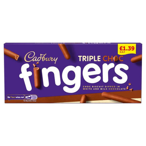 Cadbury Fingers - Fabulous Fingers Biscuits 110g