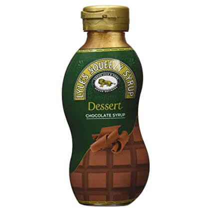 Tate and Lyle Squeezy Syrup Chocolate Syrup 325g