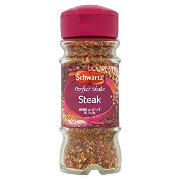 Schwartz Steak Seasoning with pepper and Garlic 46g