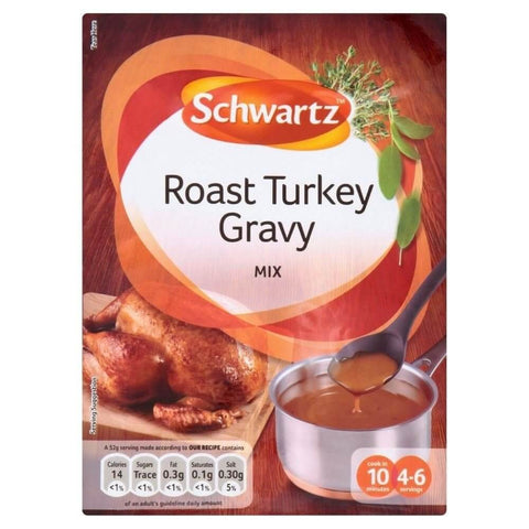 Schwartz Gravy Mix - Roast Turkey 25g