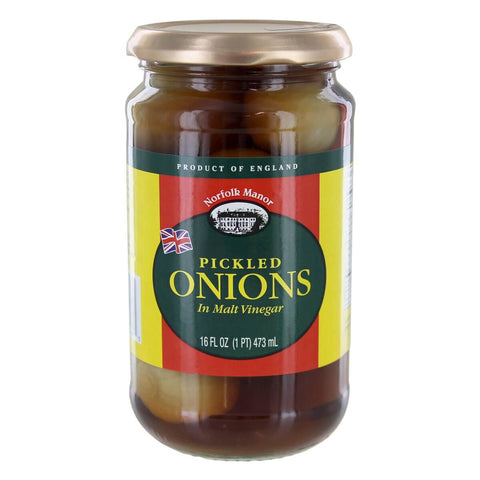 Norfolk Manor Pickled Onions in Malt Vinegar 473ml