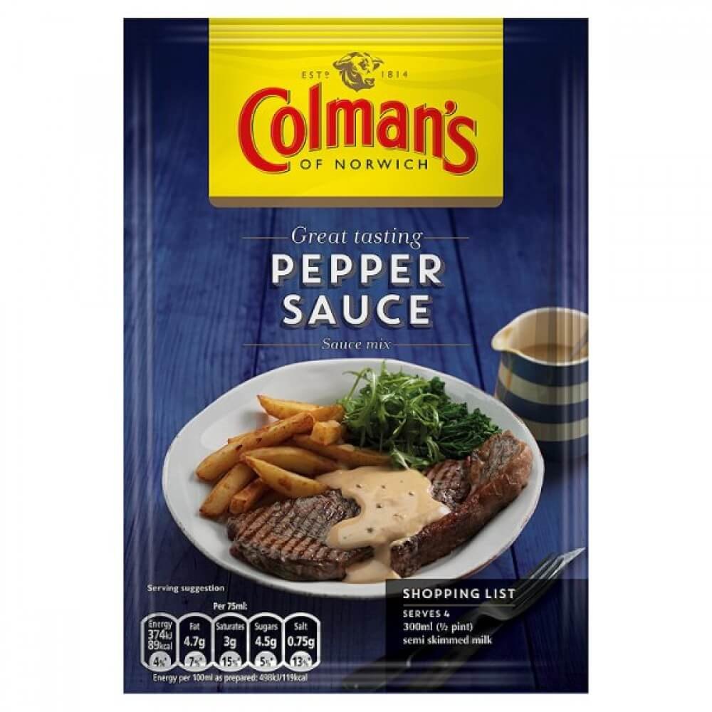 Colmans Seasoning Mix - Pepper 40g