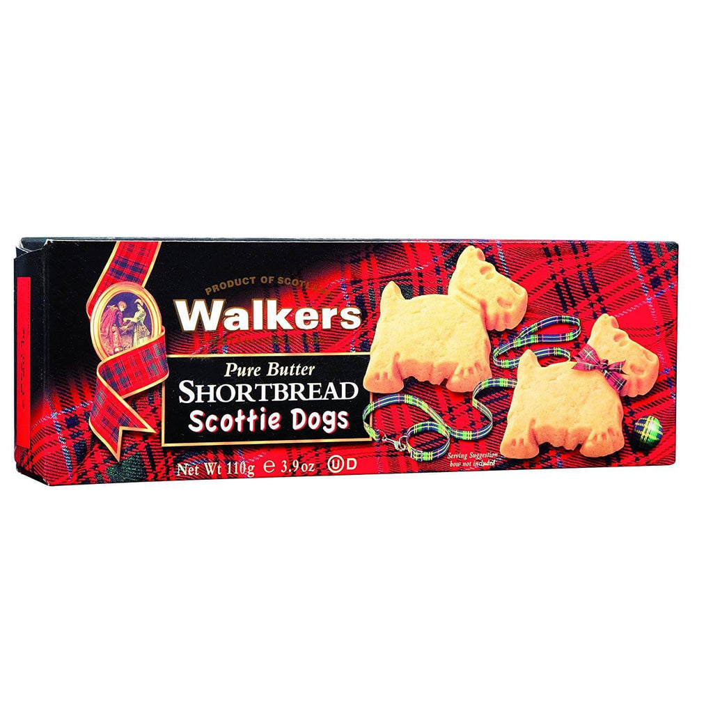 Walkers Scottie Dogs Shortbread Cookies 110g