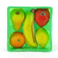 Bergen Mixed Fruit Marzipan Basket 105g