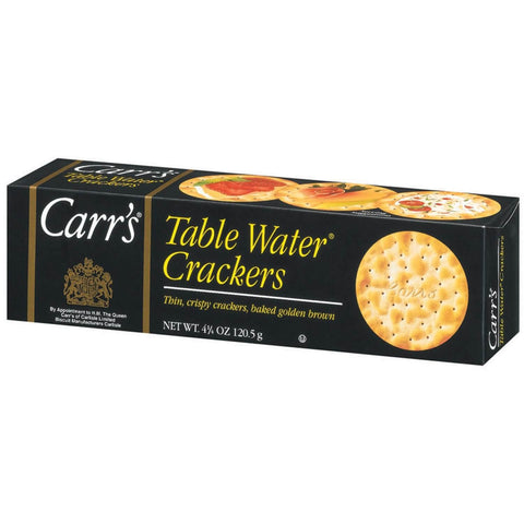 Carrs Biscuits - Water Crackers 120g