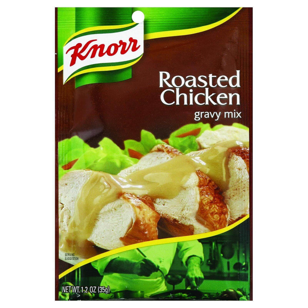 Knorr Roasted Chicken Flavored Gravy Mix with other Natural Flavor 35g