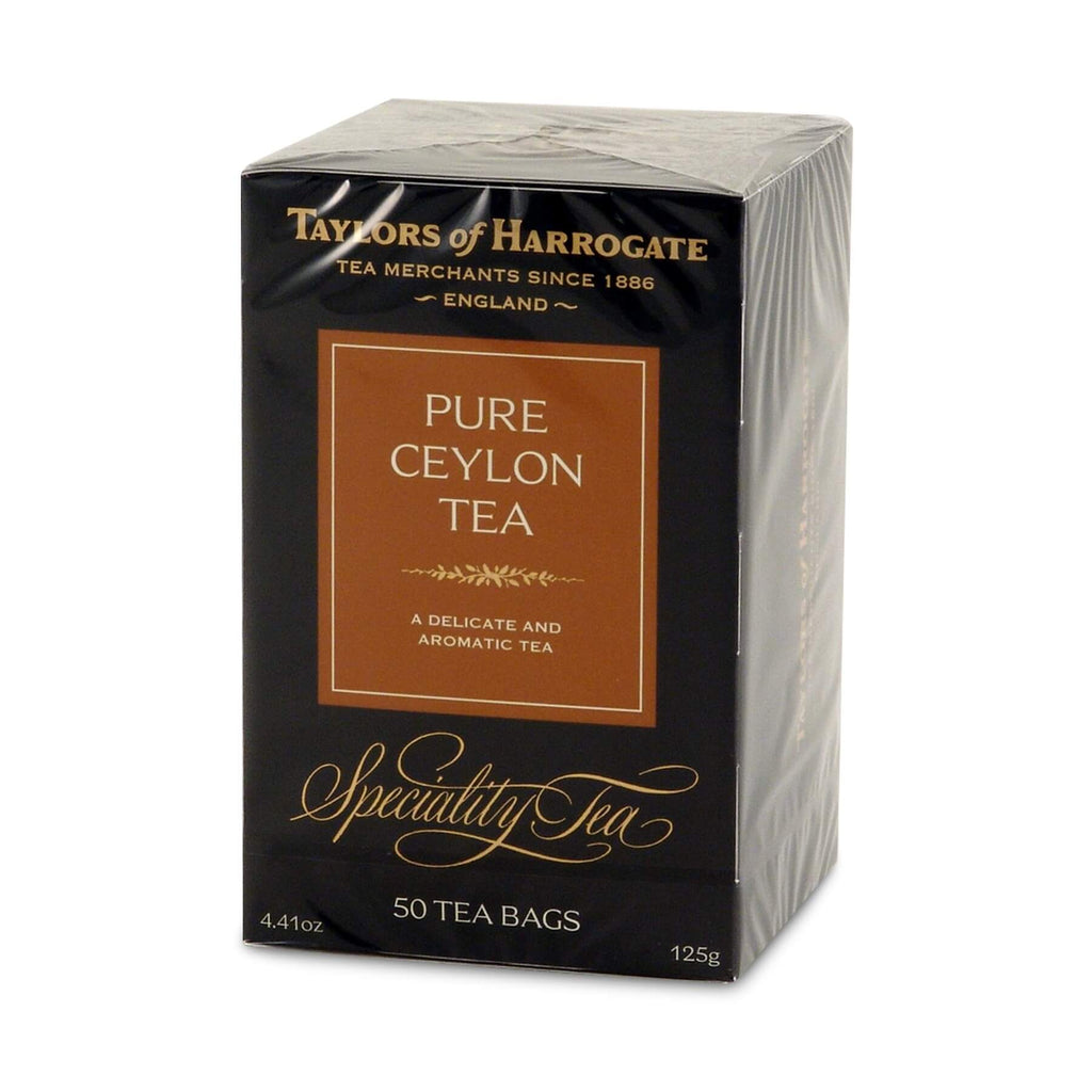 Taylors of Harrogate Pure Ceylon Tea (50 Tea Bags) 125g