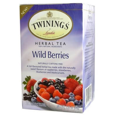 Twinings of London Tea - Wild Berries (Pack of 20 Tea Bags) 40g
