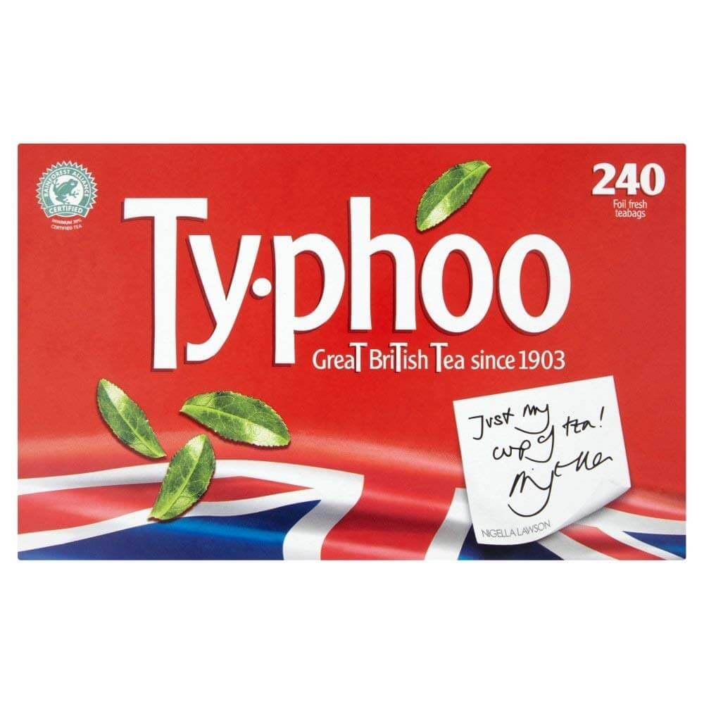 Typhoo Teabags (Pack of 240 Tea Bags) 750g