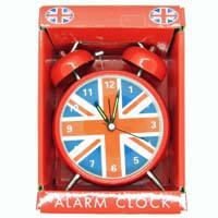 British Brands Alarm Clock - Union Jack Classic Large Alarm Clock 341g