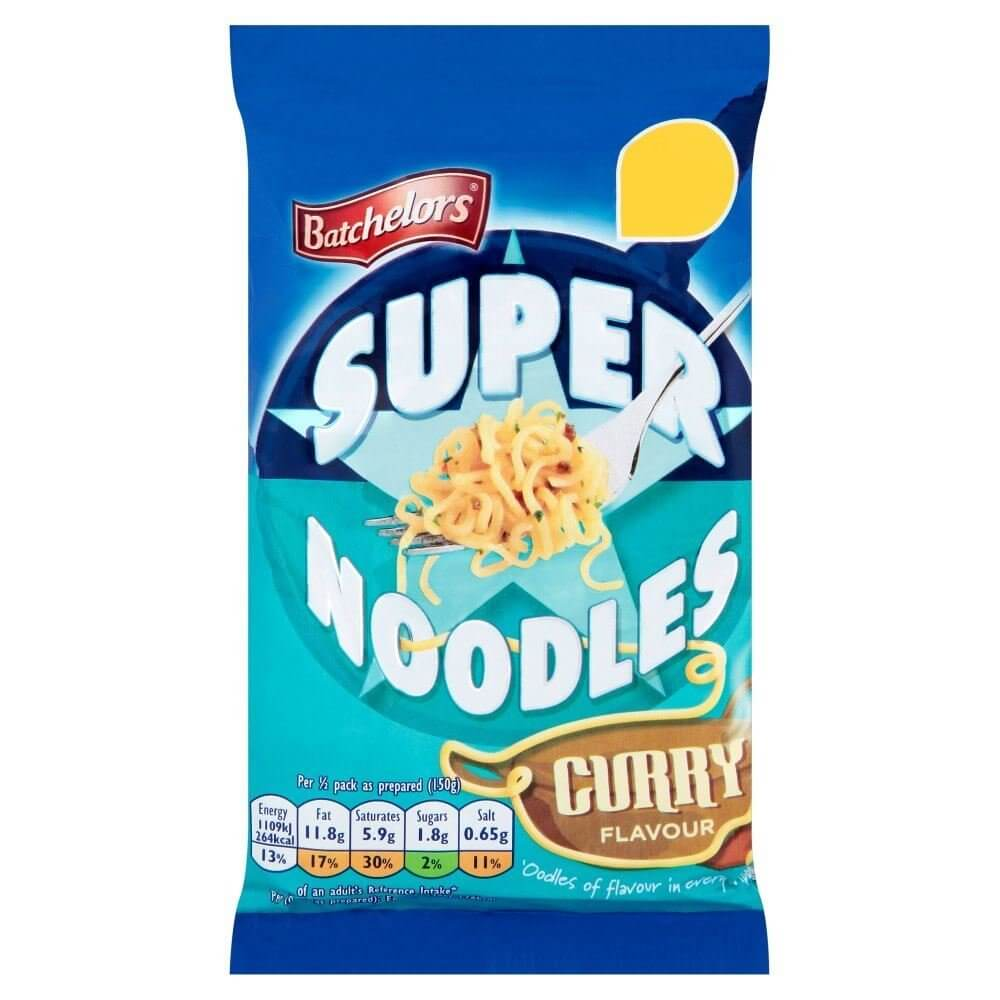 Batchelor Super Noodles - Mild Curry Flavor 100g