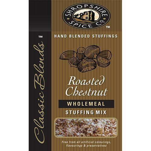 Shropshire Spice Co Roasted Chestnut Wholemeal Stuffing Mix 150g