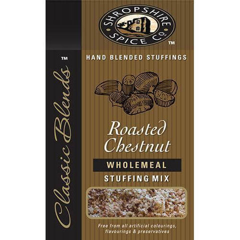 Shropshire Spice Co Stuffing - Roasted Chestnut Wholemeal Mix 150g