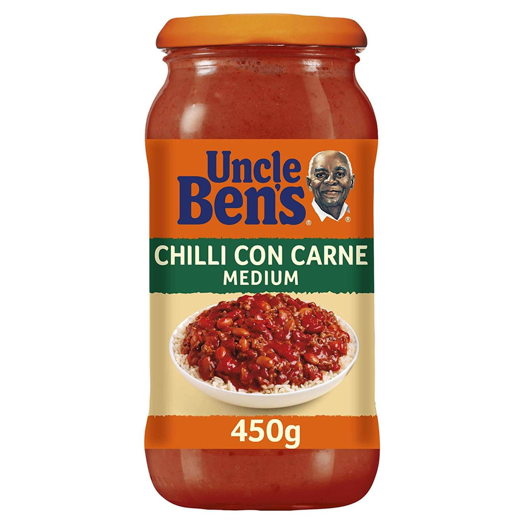 Uncle Bens Sauce - Mexican Chilli Con Carne Medium 450g