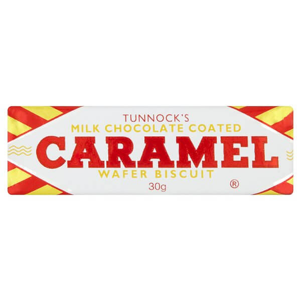 Tunnocks Caramel Wafer 30g