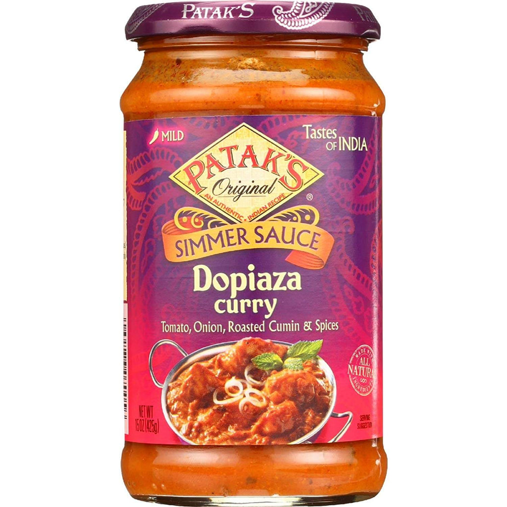 Pataks Dopiaza Mild Curry Simmer Sauce 425g