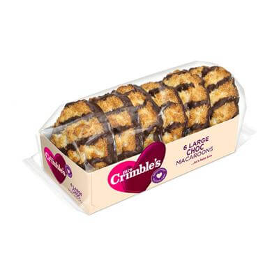 Mrs Crimbles Macaroons - Chocolate Coconut 220g