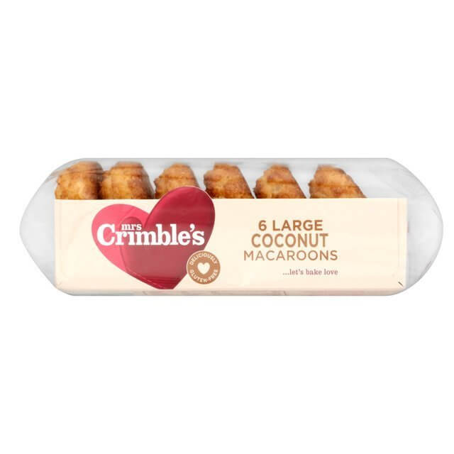 Mrs Crimbles Macaroons - Coconut 190g