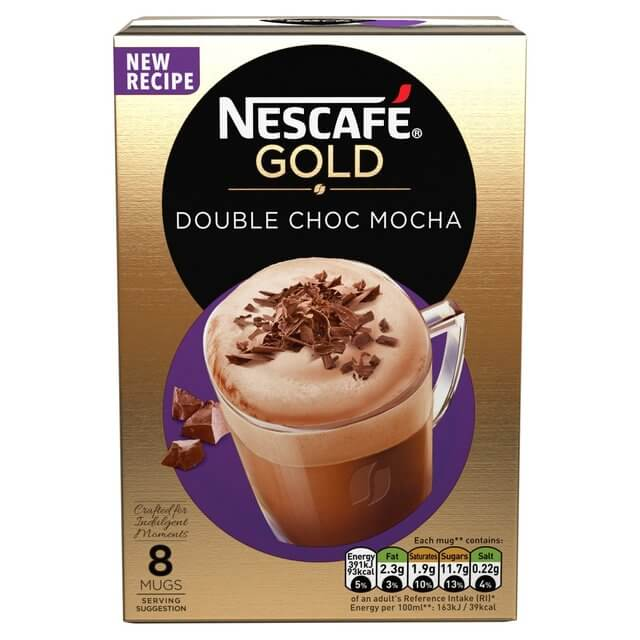 Nestle Nescafe Double Choca Mocha Mix (Pack of 8) 184g