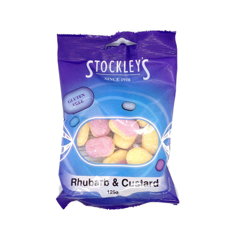 Stockleys Rhubarb and Custard 125g