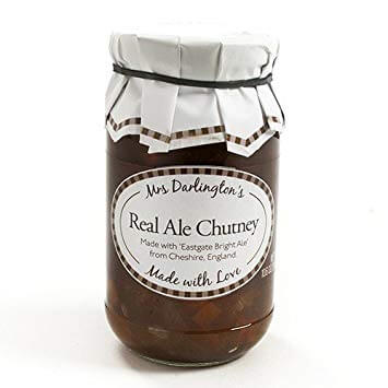 Mrs Darlingtons Real Ale Chutney 340g