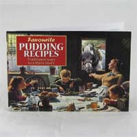 Favorite British Pudding Recipe Book 60g