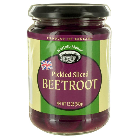 Norfolk Manor Pickled Sliced Beetroot in Vinegar 340g
