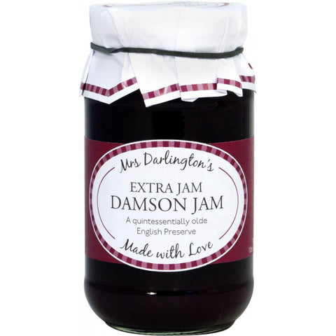 Mrs Darlingtons Traditional Damson Jam 340g