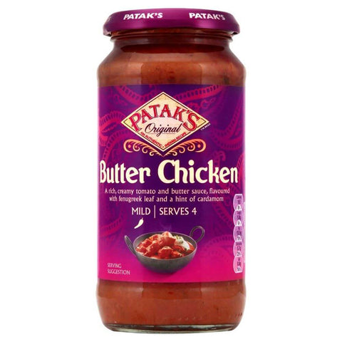 Pataks Curry Sauce -  Mild Butter Chicken  450g