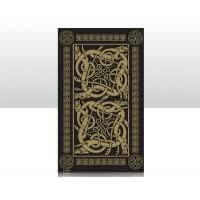 British Brands Tea Towel - Black with Celtic Design 100% Cotton 70g
