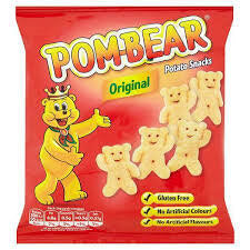Pom Bear Ready Salted Crisps 19g