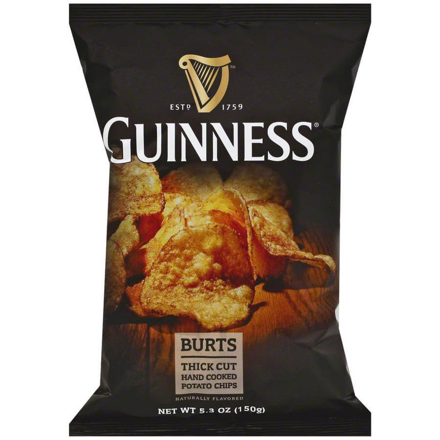 Burts Crisps - Guinness Thick Cut Potato Chips 150g