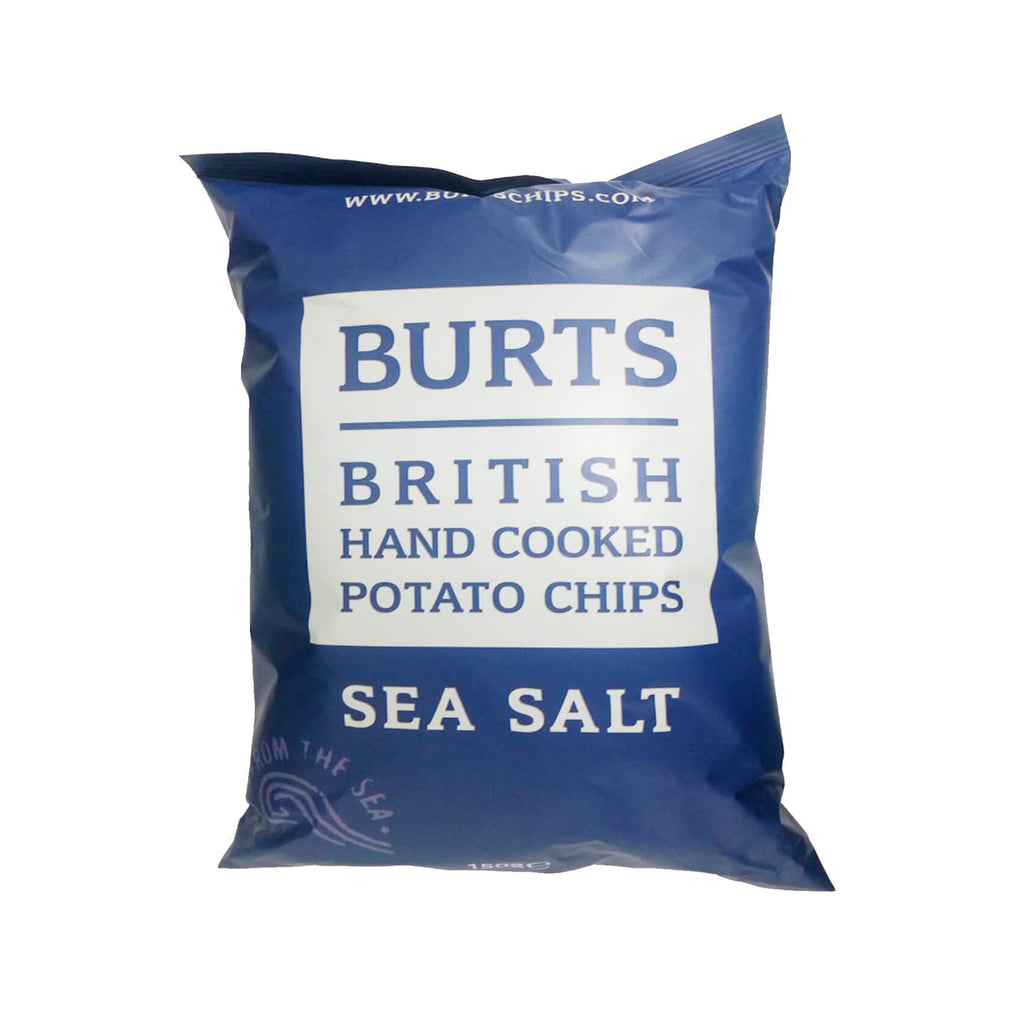 Burts Crisps - Sea Salt Thick Cut Potato Chips 150g