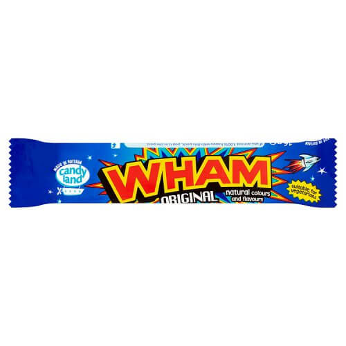 Candyland (Barratt) Wham Chew Bar 16g