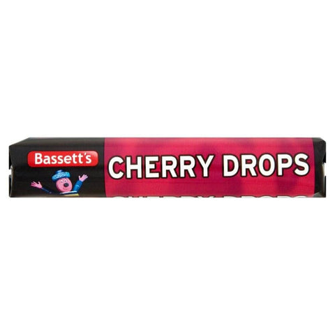 Bassetts Cherry Drops Roll 45g