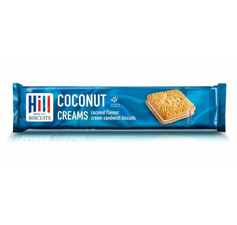 Hill Biscuits - Coconut Creams 150g