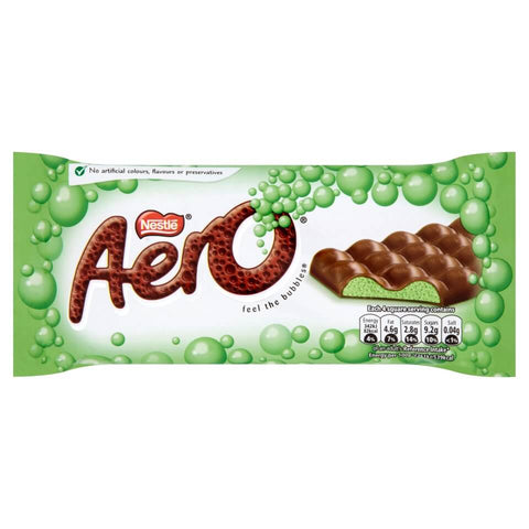 Nestle Aero Delightful Peppermint Large Bar 100g