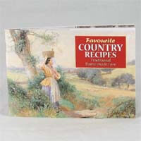 Favourite Recipes Book - Country Recipe Book 60g