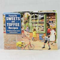 Favorite Sweets and Toffee Recipes Book 60g